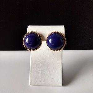 Dramatic Vintage Ellen Designs Pierced Earrings