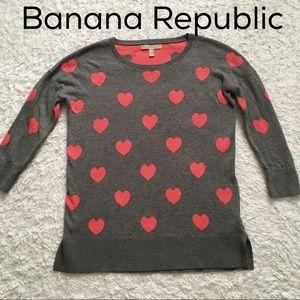Banana Republic 3/4 sleeves sweatshirt