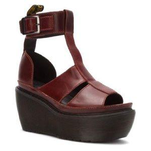RARE Dr Martens Women's Bessie Ankle Strap Sandal