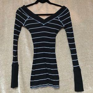 Free People Striped Sweater!