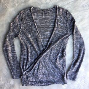 Free people wrap sweater M