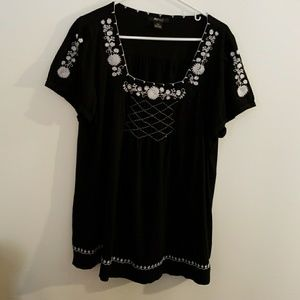 Woman's peasant style blouse