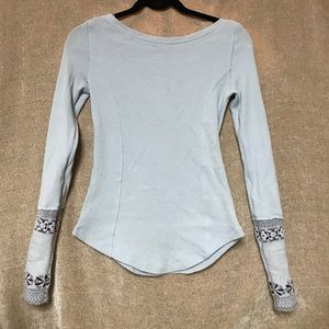 Light Blue Free People Thermal!