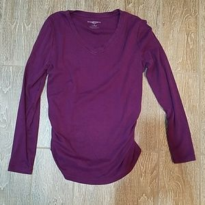 Liz Lange Maternity for Target long sleeve tee