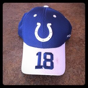 Blue and White Colts (Peyton Manning) Hat