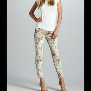 Current Elliott Floral Jeans