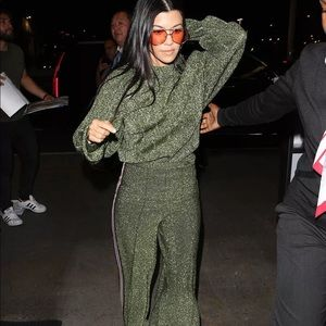 Kourtney Kardashian Glitter Set from H&M