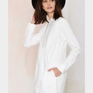 NastyGal Night Owl shirt dress