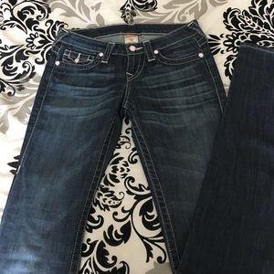 Blue True Religion Skinny Jeans - Size 26