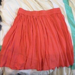 Coral Aeropostale Skirt
