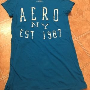 Aeropostale Blue Shirt New without tags