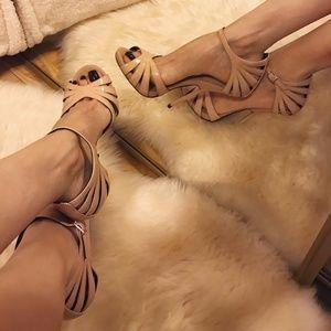 Giuseppe Zanotti Alien Patent Sandals / 36.5