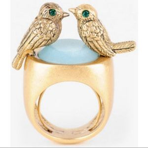 Juicy Couture Laurel Canyon Kissing Birds Ring