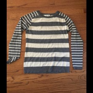 forever 21 grey striped sweater