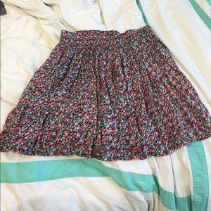 Floral Errol Aeropostale  skirt