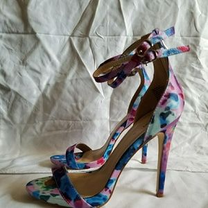 Watercolor Heels