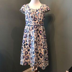 Boden linen floral dress
