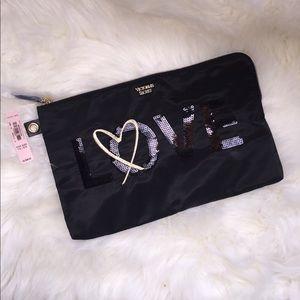 Victoria's Secret Large Clutch/makeup bag