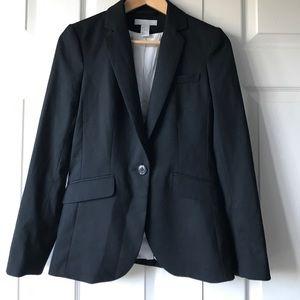 black work blazer