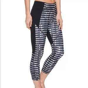 Under Armour UA Color Block Crop Studio Capri Yoga