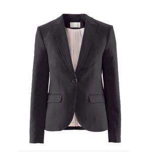 Fitted H&M blazer black