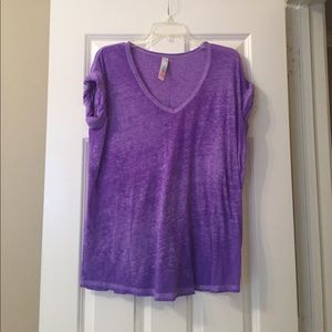 Free People Beach purple T-Shirt
