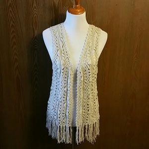 Maurices Fringe Boho Vest Size X-Large NWT ✌🌼☮