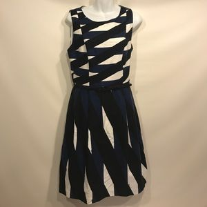 Trina Turk Medina Belted Dress with Pockets