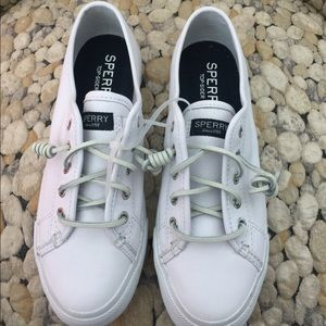 Sperry Top -Sider white Sz6.5