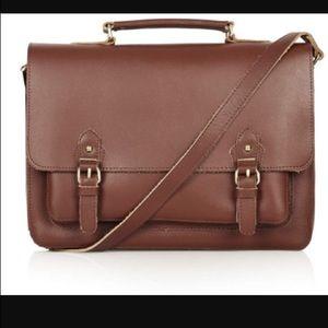 Topshop Leather satchel