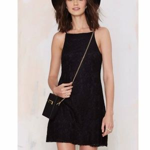 Nasty Gal Mariana Lace Dress