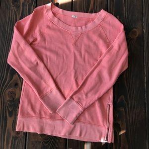 J. Crew sweater with zipper side slit