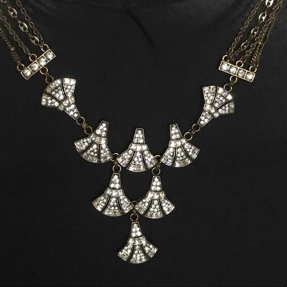 Badgley Mischka Jewelry - Badgley mischka necklace Art Deco never worn