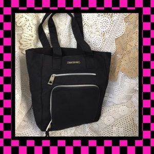 Marc Jacobs Black Fabric Tote USED CONDITION