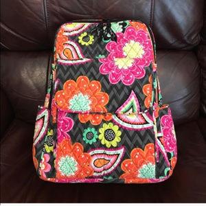 Vera Bradley ziggy zinnia ultimate backpack