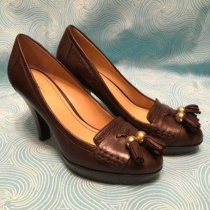 Coach loafer heels