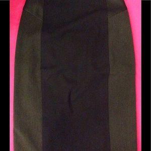 Express Black & Gray skirt. Size 0