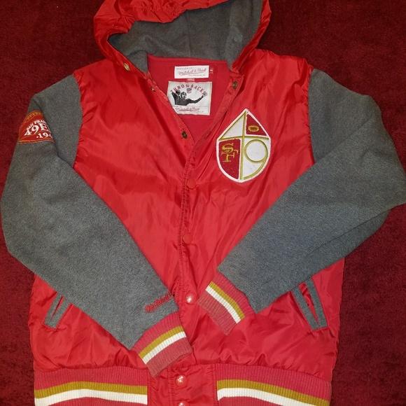 buy popular 06e9f cae47 Mitchell & Ness San Francisco 49ers Jacket
