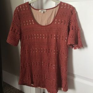 Beautiful Knitted Anthropology Top