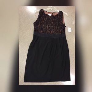 Black Dress by Suzi Chin for Maggy size 12