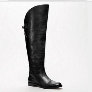 Coach Black Cheyenne Tall Boots