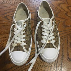 COACH EMPIRE style A00980 tennis shoes 6.5sz