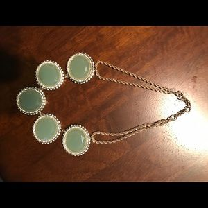 Banana Republic Mint Colored Statement necklace