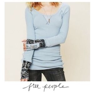 Free people thermal (Light blue)