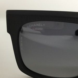 1b25d3943acdf CHANEL Accessories - CHANEL 5333 501 S8 Rectangular Runway Polarized