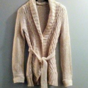 Beautiful, soft, chunky Dkny sweater cardigan