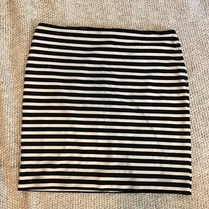 Merona Striped Pencil Skirt