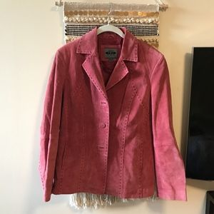 AR - Bernardo Fashion Company red stick blazer