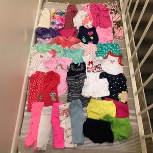 Other - Bundle of 36 baby girl clothes