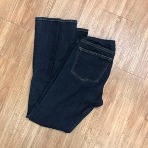 Gap Sexy Boot Cut Maternity Jeans Dark Wash 2R 26